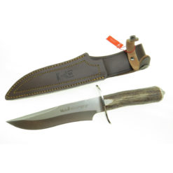 Muela - Cuchillo asta de ciervo MAGNUM-19A